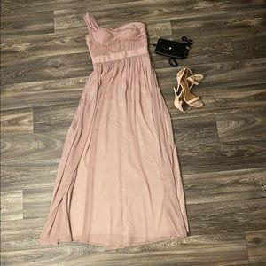 Adrianna Papell Mauve/Rose prom Gown